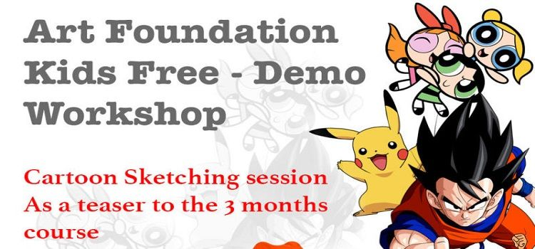Art Foundation: Demo Workshop For Kids