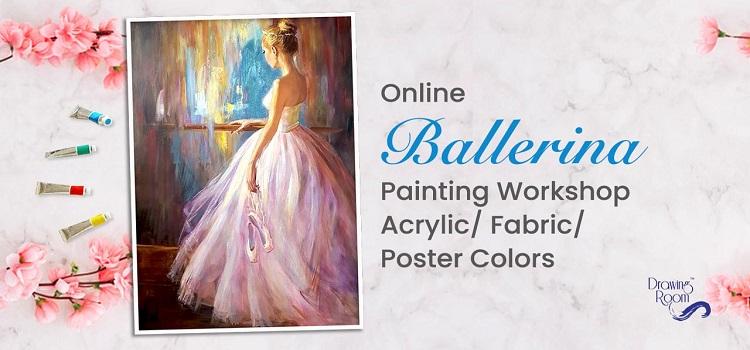 Online Ballerina Painting Workshop