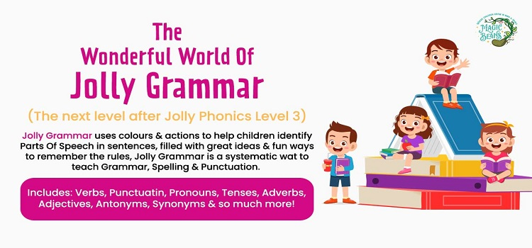 The Wonderful World of Jolly Grammar by Online Events
