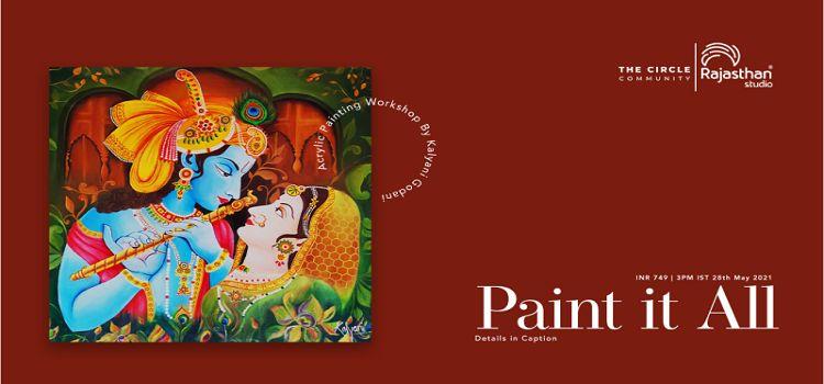 Paint It All: An Online Workshop