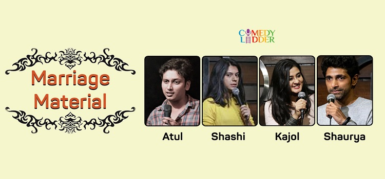 Comedy Ladder presents Marriage Material