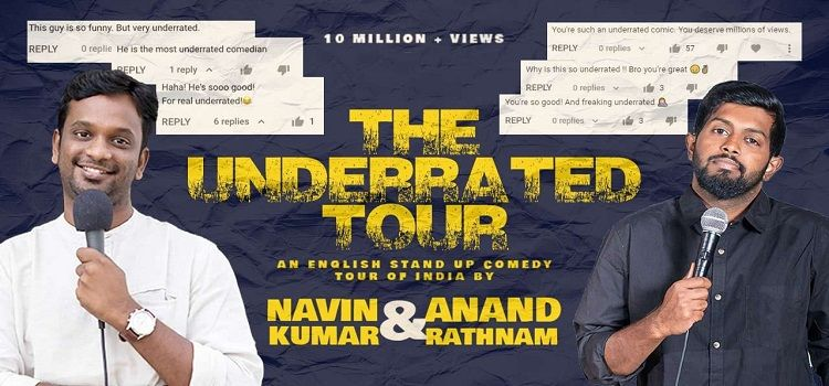 The Underrated Tour ft. Navin and Anand