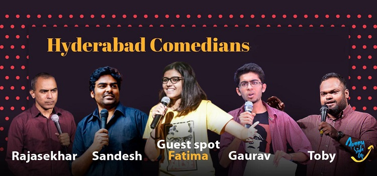 Funny Side Up presents  An Online Comedy Event