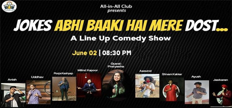 A Line Up Comedy Show by All-in-All Club
