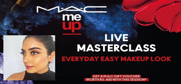 Online Masterclass for Everyday Makeup Look