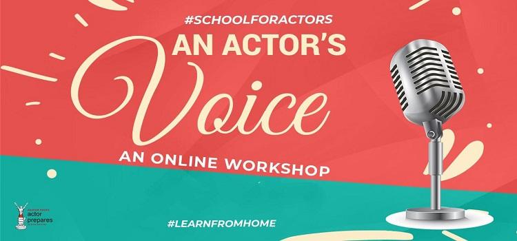 An Actor's Voice: An Online Workshop