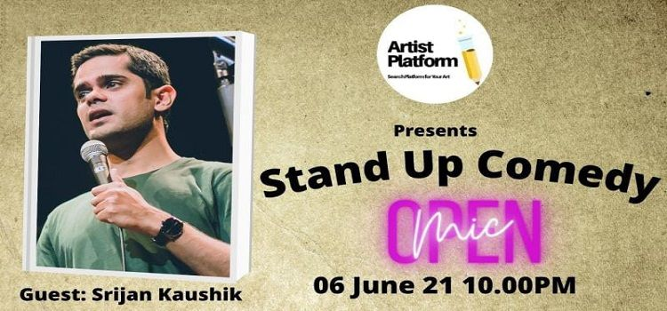 Online Stand-Up Comedy Event