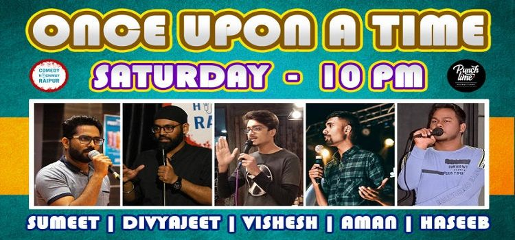 Once Upon A Time: An Online Comedy Event