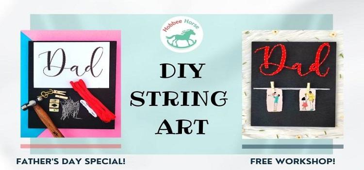 Online String Art Workshop by Online Events