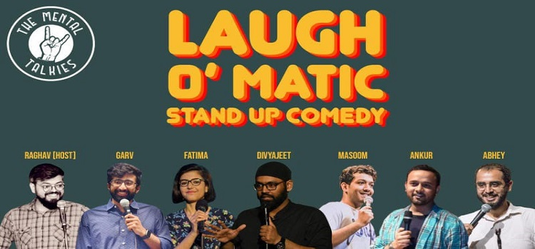 Laugh-O-Matic: An Online Comedy Event