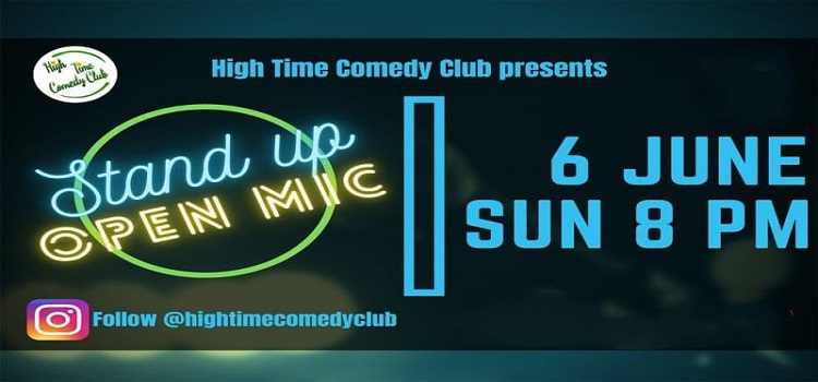 High Time Comedy Club presents Open Mic