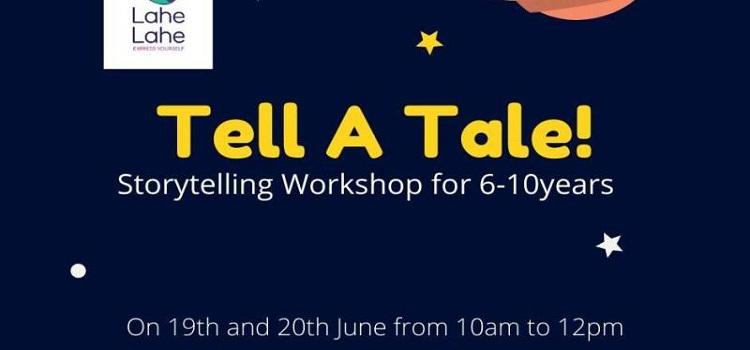 Online Storytelling Workshop for Kids