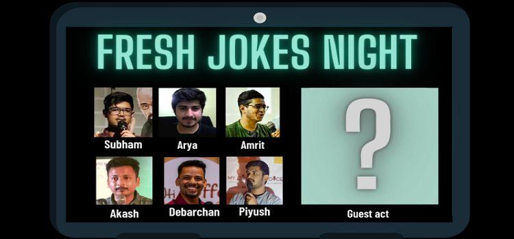 Fresh Jokes Night: Online Comedy Event