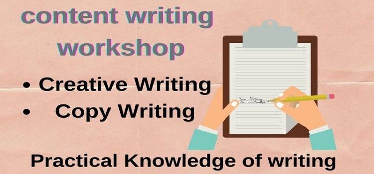 Content Writing: An Online Workshop by Online Events