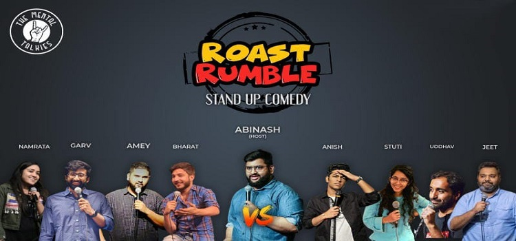 Roast Rumble: Online Stand-Up Comedy
