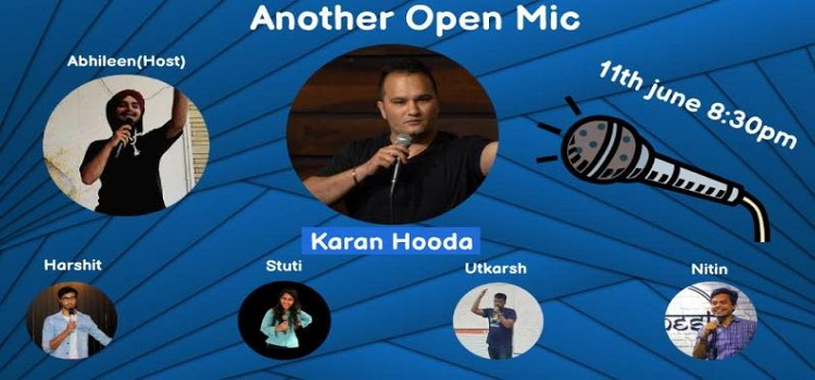 Online Open Mic Comedy Event