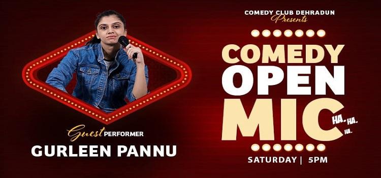 Online Comedy Open Mic ft. Gurleen Pannu