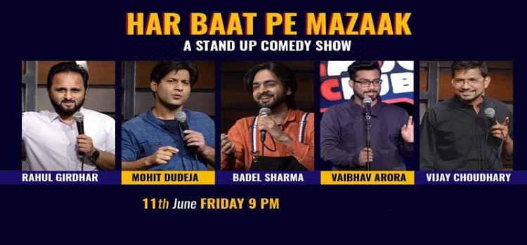 Har Baat Pe Mazaak: Online Stand-Up Comedy
