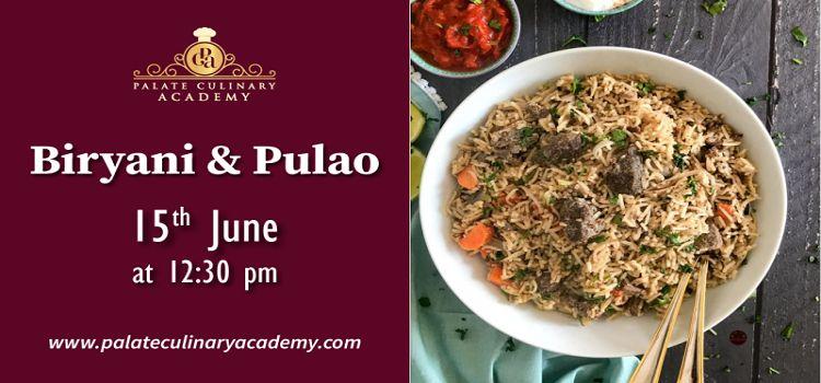 Biryani & Pulao: Workshop by Rakhee by Online Events