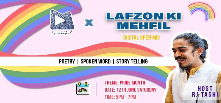 Lafzon Ki Mehfil ft. RJ Tashi
