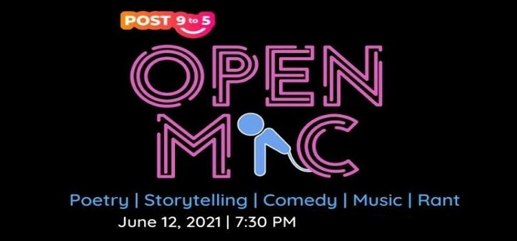 Virtual Open Mic Event