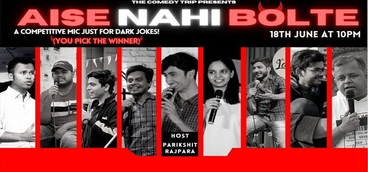 Aise Nahi Bolte: An Online Comedy Event by Online Events
