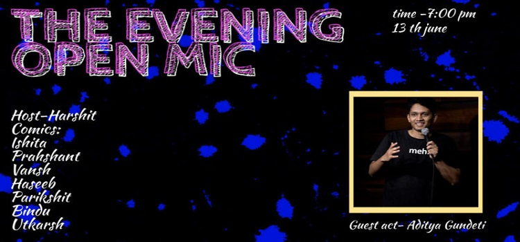 Online Stand Up Comedy Open Mic by Online Events