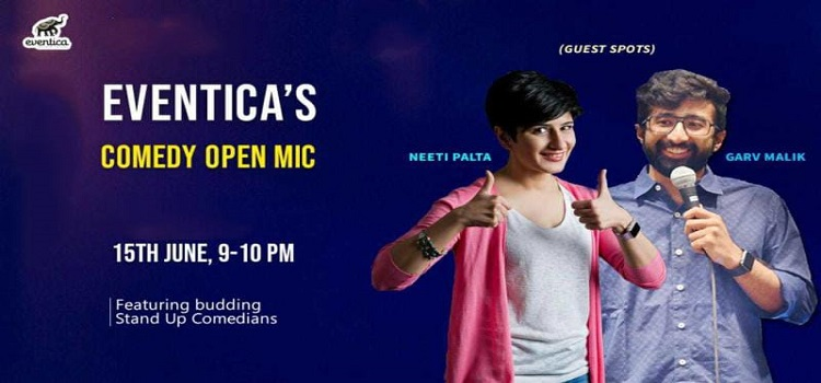 Eventica presents Online Comedy Open Mic by Online Events