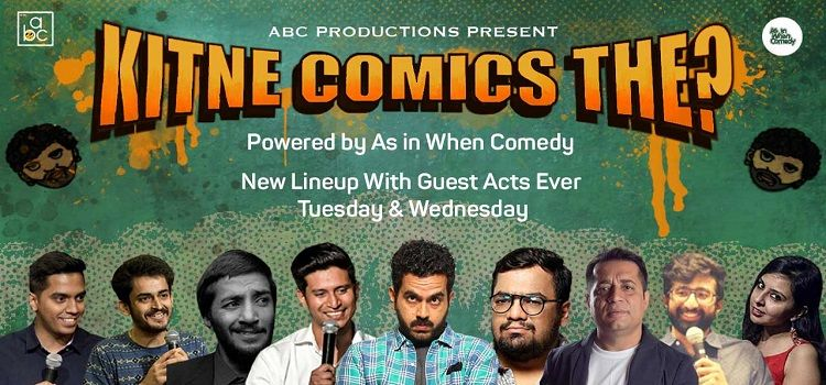 Kitne Comics The?: An Online Event by Online Events