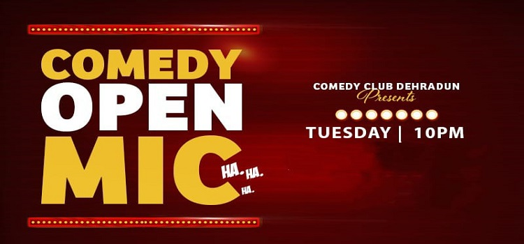 CCD presents Online Comedy Open Mic by Online Events
