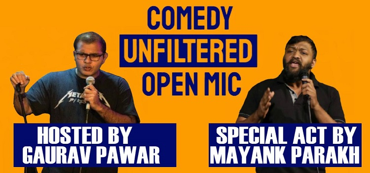 Comedy Unfiltered Open Mic