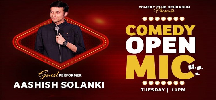 Comedy Open Mic ft. Aashish Solanki by Online Events