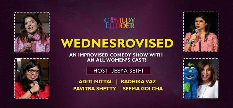 Wednesrovised- An all Women's cast by Online Events