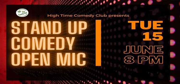 HTCC presents Stand-Up Comedy Open Mic by Online Events