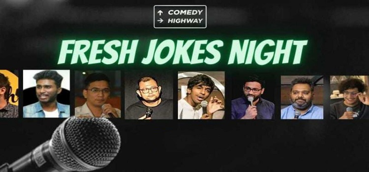 Stand-Up Comedy at Fresh Jokes Night by Online Events