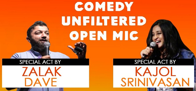 Comedy Unfiltered Open Mic: An Online Event by Online Events