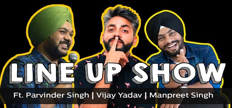 Line Up Show: An Online Comedy Event