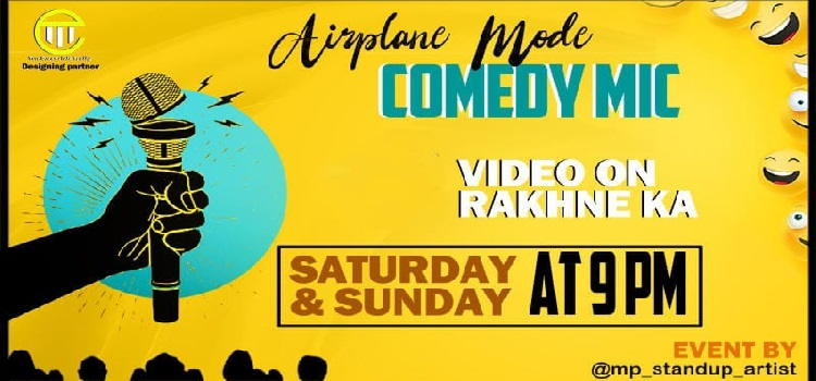 Airplane Mode: Online Comedy Mic