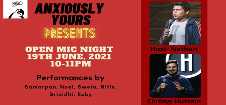 Anxiously Yours: Open Mic Night