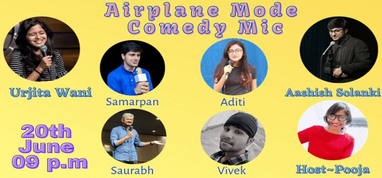 Airplane Mode: Online Comedy Open Mic