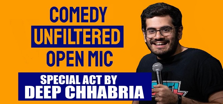Comedy Unfiltered ft. Deep Chhabria