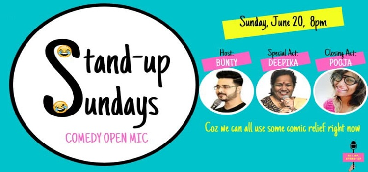 Stand-Up Sundays: Comedy Open Mic