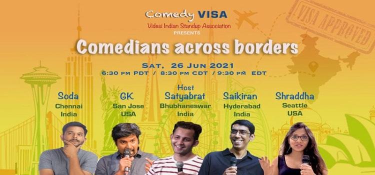 Comedians Across Borders by VISA