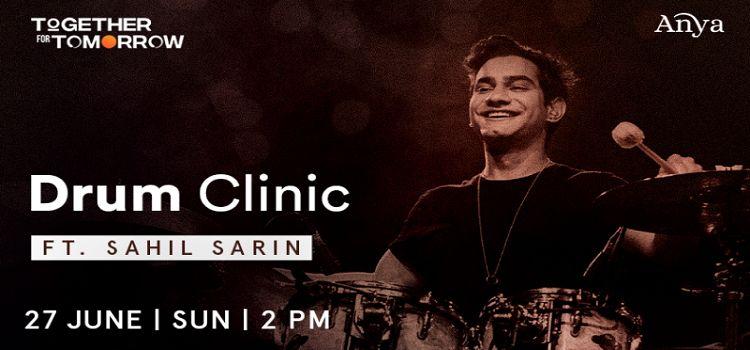 Drum Clinic ft. Sahil Sarin