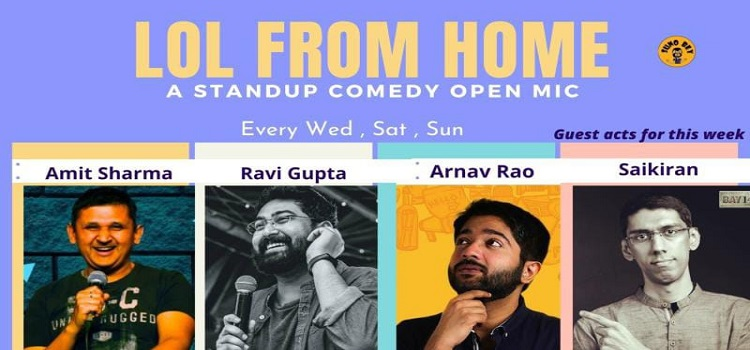 LOL From Home: An Online Open Mic Event