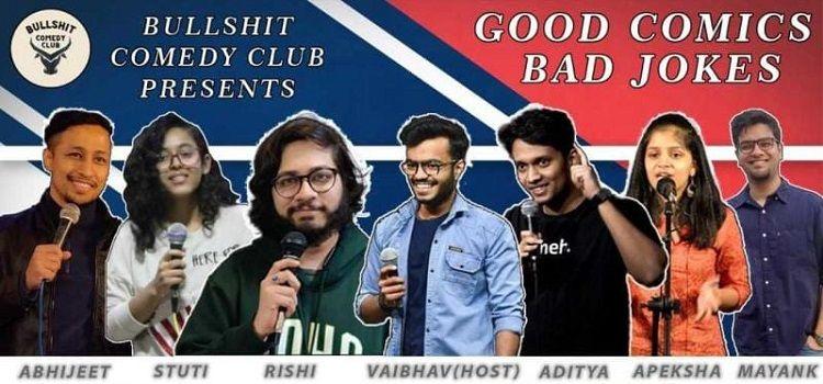 Good Comics Bad Jokes: An Online Event