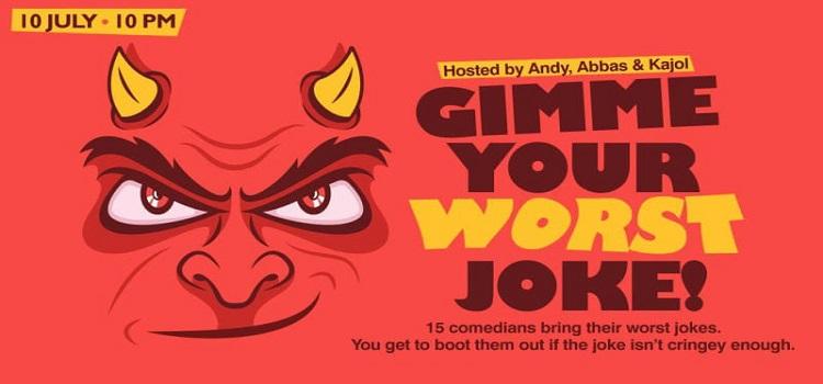 Gimme Your Worst Joke! An Online Event