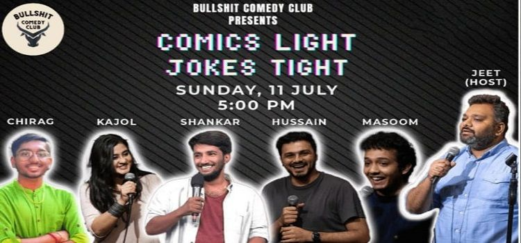 Comics Light Jokes Tight: An Online Event