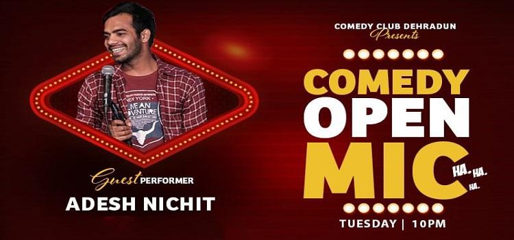 Comedy Club Dehradun presents Open Mic Event