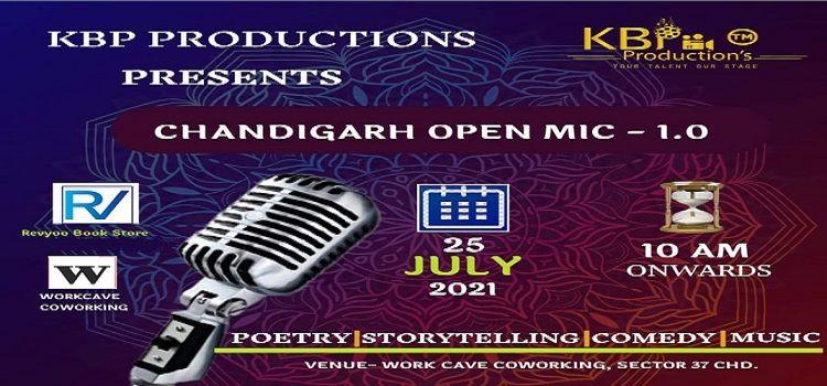 Chandigarh Open Mic Event - 1